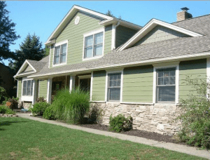 Hardie board siding for the home