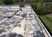 Henrys Silicone Roof Coating Before